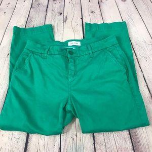Lila Ryan Stitch Fix  Shamrock Green Cropped Pants